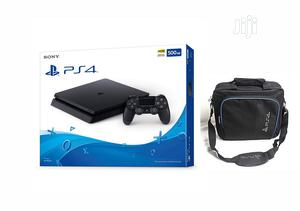 PS 4 Console Slim 500GB + Free Bag | Video Game Consoles for sale in Lagos State, Ikeja