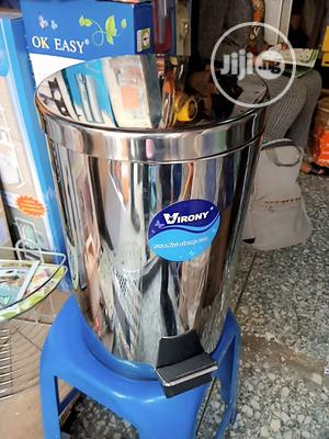 12lt Stainless Office Waste Bin   Home Accessories for sale in Abuja (FCT) State, Utako