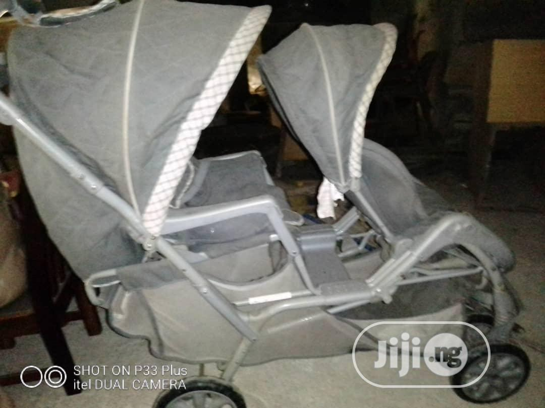 Fairly Used Twins Stroller | Prams & Strollers for sale in Ikeja, Lagos State, Nigeria