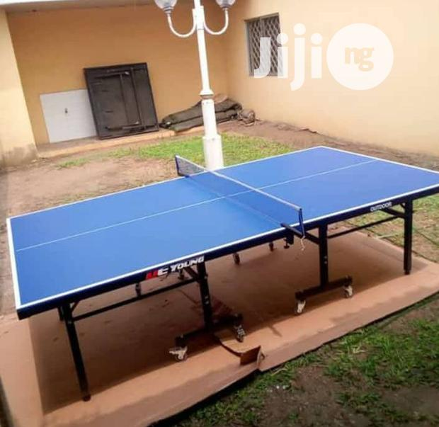 Water Resistant Table Tennis