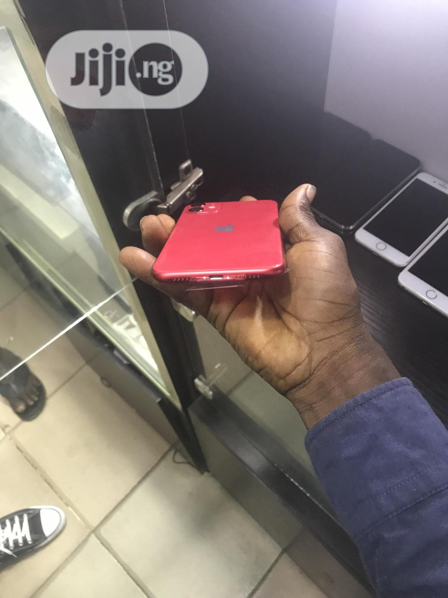 New Apple iPhone 11 64 GB Red | Mobile Phones for sale in Ikeja, Lagos State, Nigeria