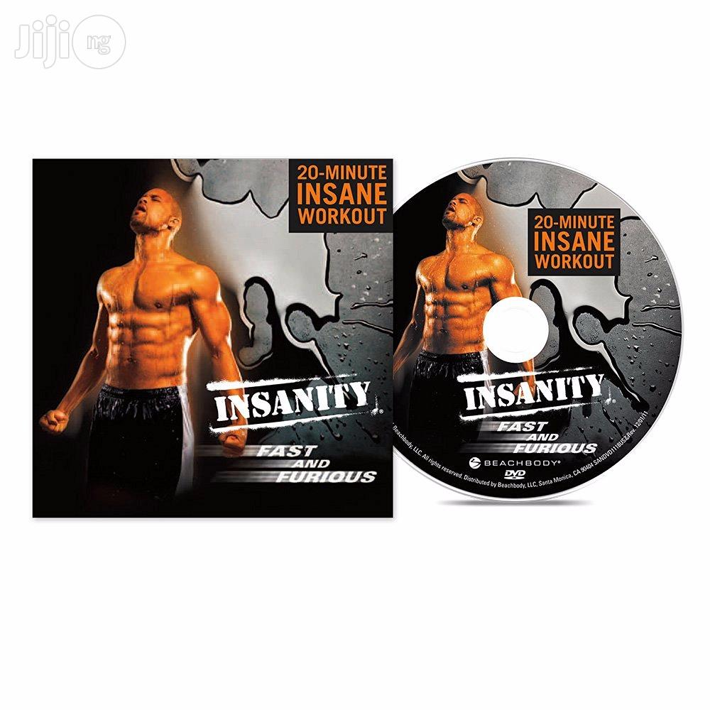 Insanity Fast And Furious 20min Workout DVD