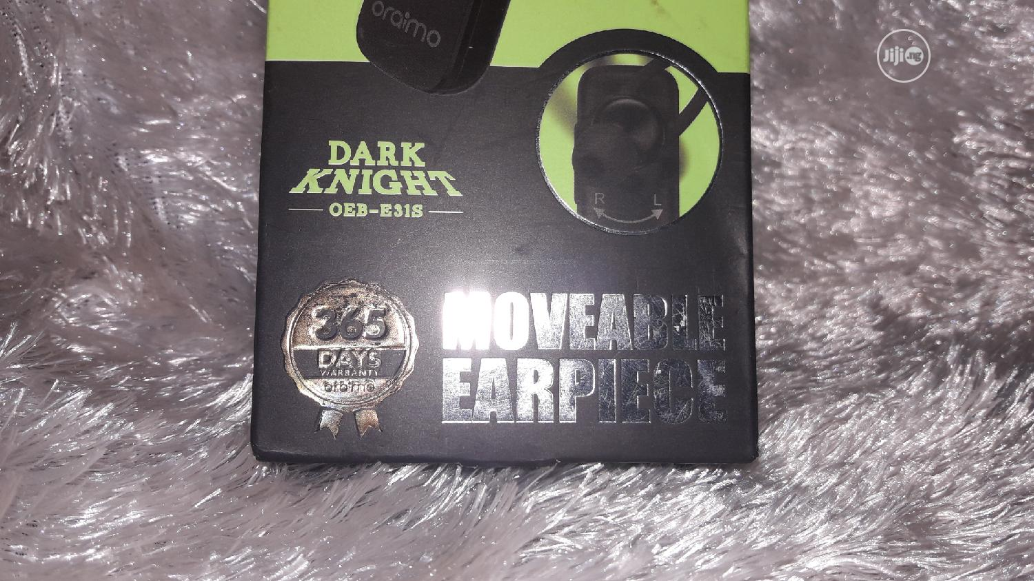 Oraimo Wireless Moveable Earpiece | Accessories for Mobile Phones & Tablets for sale in Ikotun/Igando, Lagos State, Nigeria