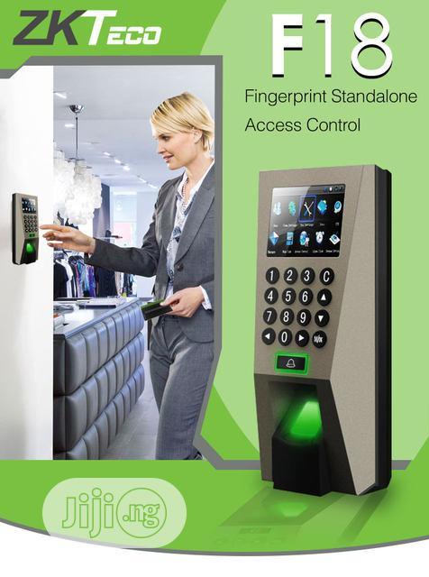 Archive: Zkt F18 LCD Screen Fingerprint PIN Access Control Time Attendance
