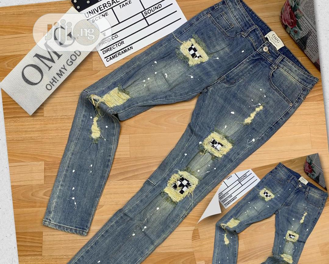Archive: Exclusive Ripped Jeans for Unique Men