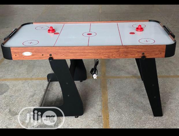 Foldable Air Hockey Imported With Complete Accessories Inside