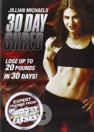 Jillian Michaels 3O Day Shred Workout DVD