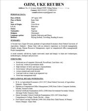 Clerical Administrative CV   Clerical & Administrative CVs for sale in Abuja (FCT) State, Nyanya