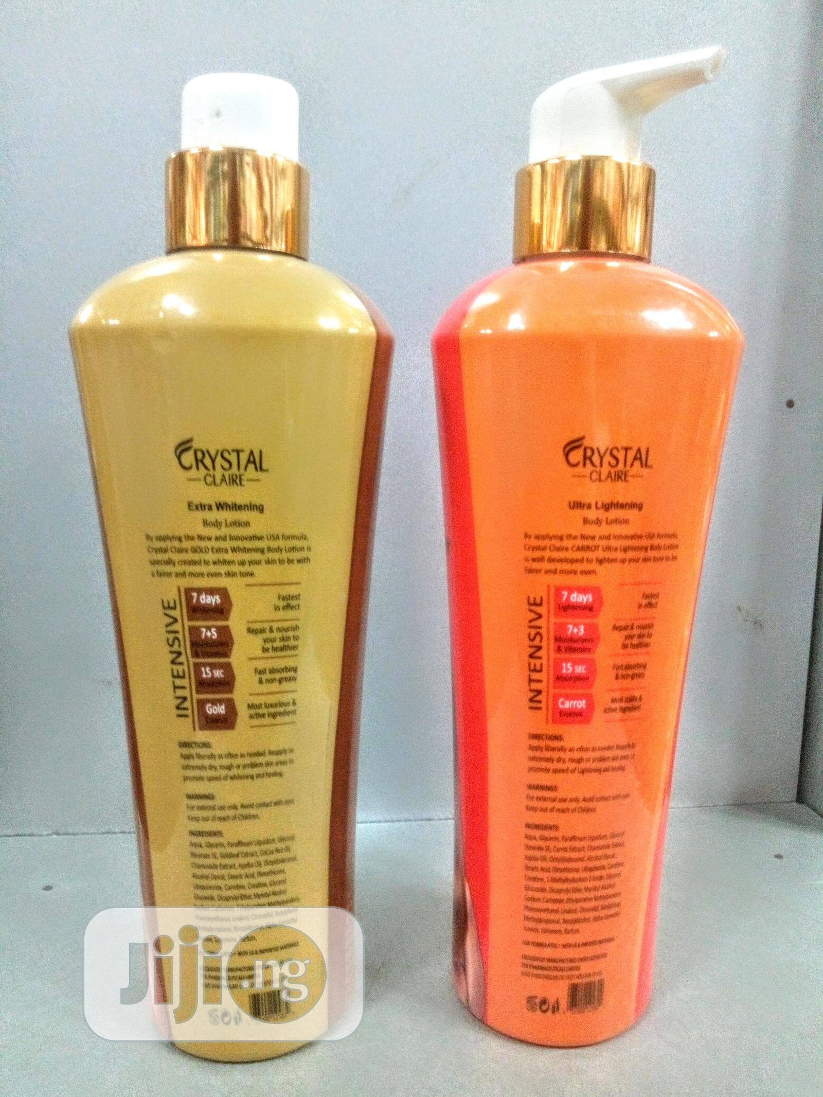 Crystal Claire Body Lotion -400ml | Skin Care for sale in Lagos State, Nigeria