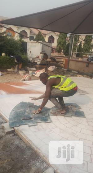 Concrete Stamped Floor | Building & Trades Services for sale in Lagos State