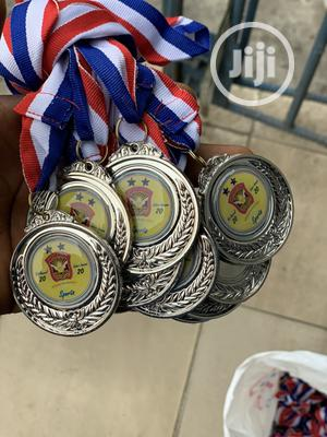 Award Medal With Print   Arts & Crafts for sale in Lagos State, Ikorodu