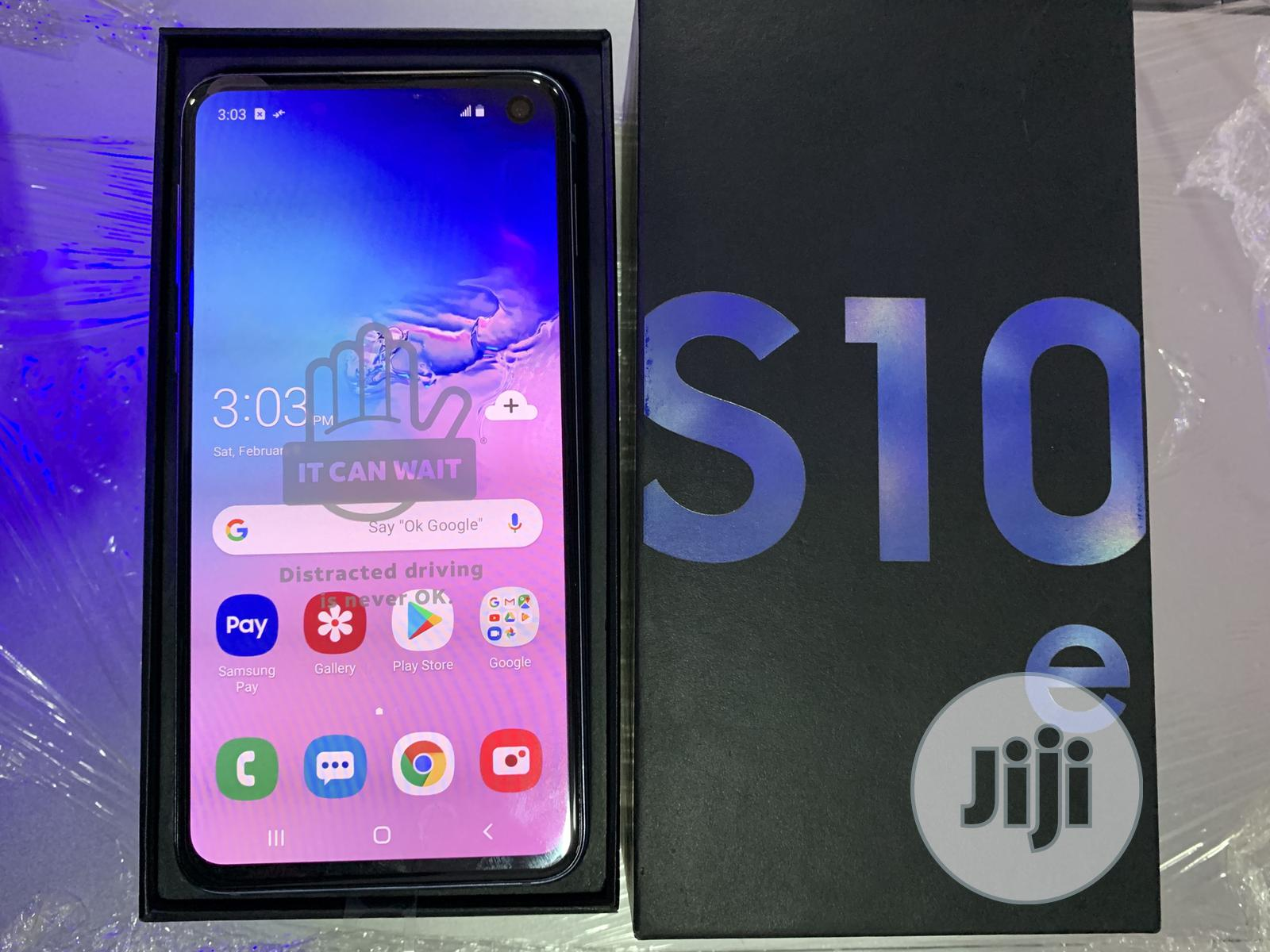 New Samsung Galaxy S10e 128 GB Blue | Mobile Phones for sale in Benin City, Edo State, Nigeria