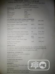 Sales Representative | Sales & Telemarketing CVs for sale in Lagos State, Lagos Island