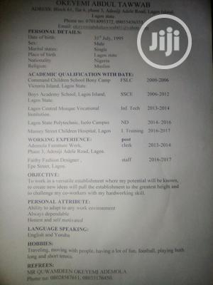 Sales Representative | Sales & Telemarketing CVs for sale in Lagos State, Lagos Island (Eko)