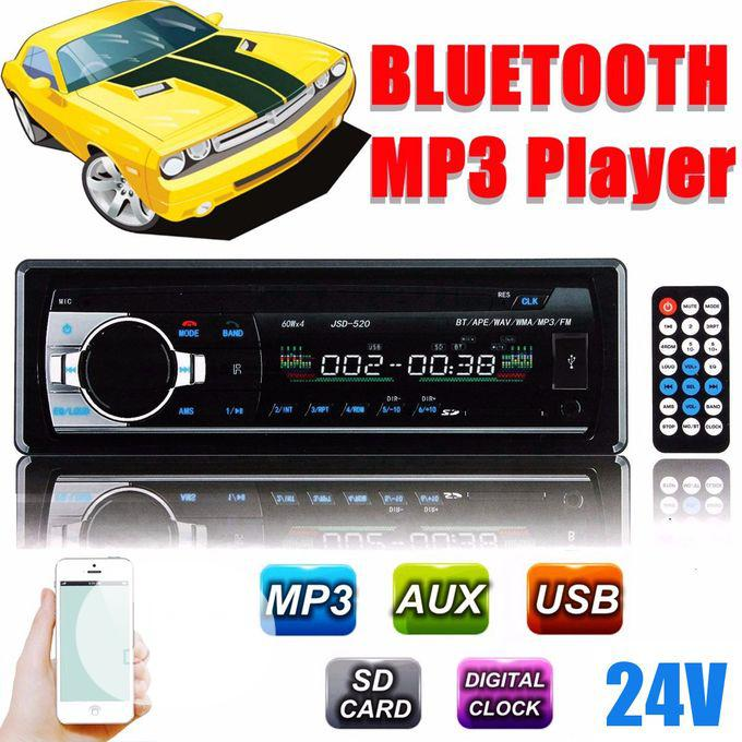 24v Bluetooth Car Audio MP3 FM Radio Player