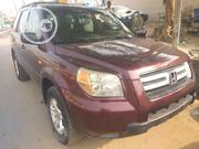 Honda Pilot 2007 EX 4x2 (3.5L 6cyl 5A) Red | Cars for sale in Lagos State, Gbagada