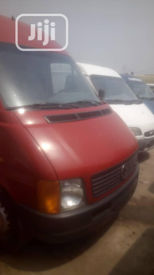 LT35 Volkswagen Bus 2006 Diesel Red   Buses & Microbuses for sale in Apapa, Lagos State, Nigeria