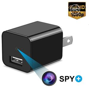 Mini Charger Hidden Camera HD 1080P Motion Detection USB Wall Charger | Security & Surveillance for sale in Lagos State, Ikeja