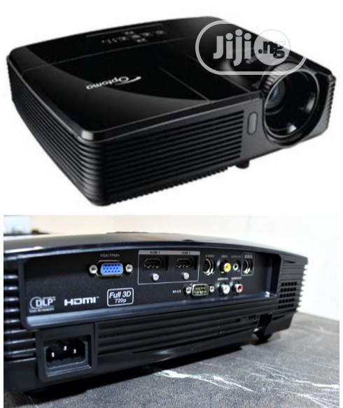 Archive: Optoma DX327 DLP Projector