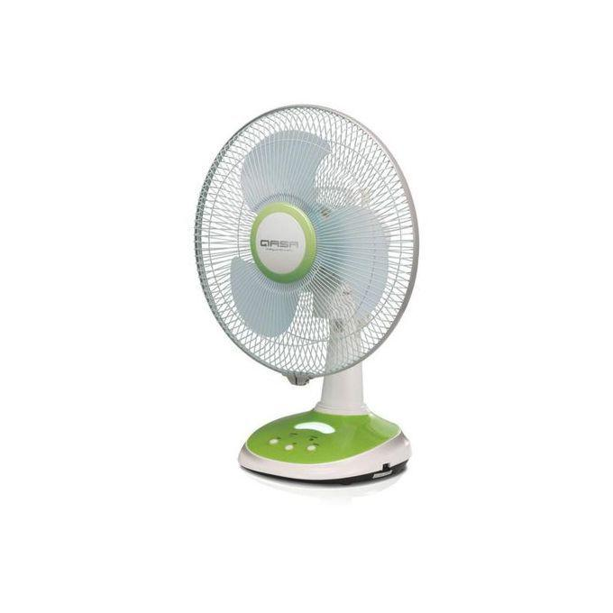 12 Inches Qasa Rechargeable Table Fan