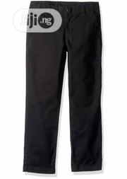 Crazy 8 Boys Black Tapered Chinos Trouser - 4Y | Children's Clothing for sale in Lagos State, Surulere