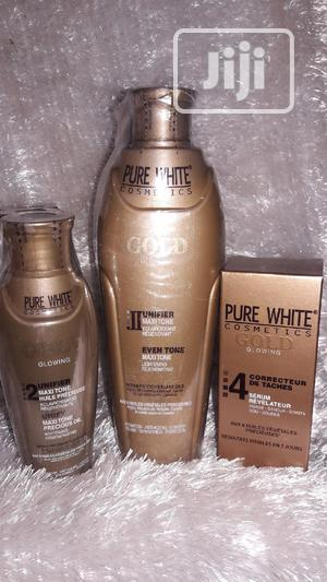 Pure White Gold Lotion/Serum/Oil Combo   Bath & Body for sale in Lagos State, Ikotun/Igando