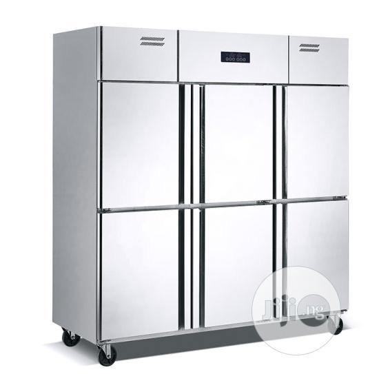 6 Doors Industrial Freezer