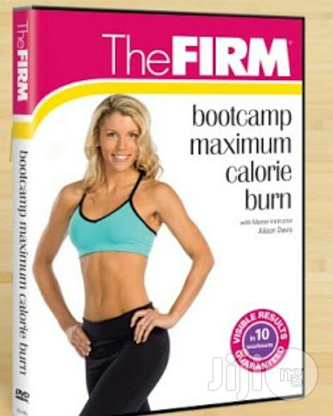 The Firm Bootcamp Maximum Calorie Burn Workout DVD