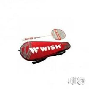 Wish Badminton Racket   Sports Equipment for sale in Rivers State