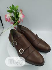 Double Monk Brown Leather Shoe | Shoes for sale in Lagos State, Agboyi/Ketu
