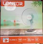 Lontor 12 Inch Rechargeable Table Fan(32hrs Non Stop) | Home Appliances for sale in Lagos State, Ikeja