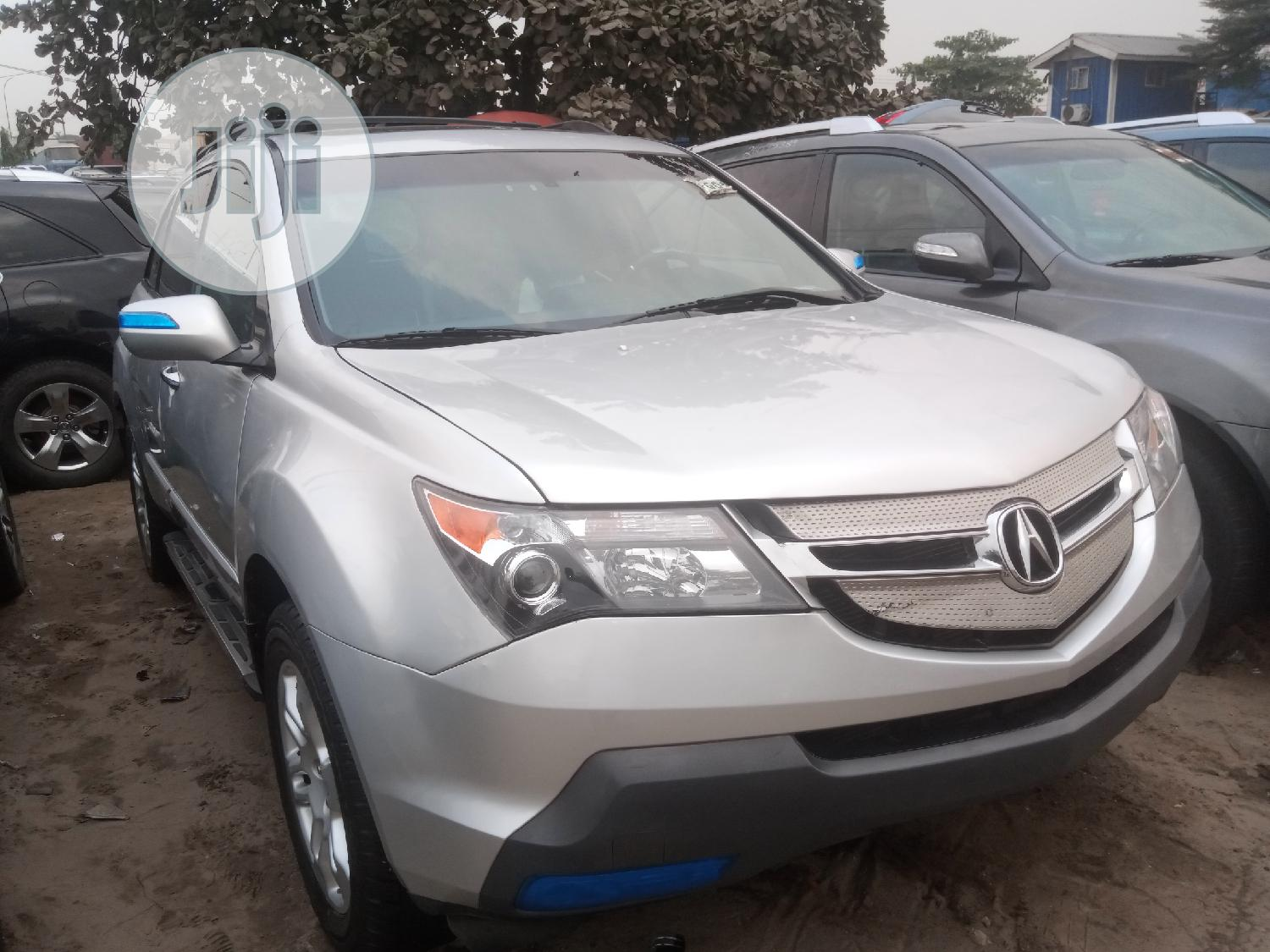 Acura MDX 2008 Silver | Cars for sale in Apapa, Lagos State, Nigeria