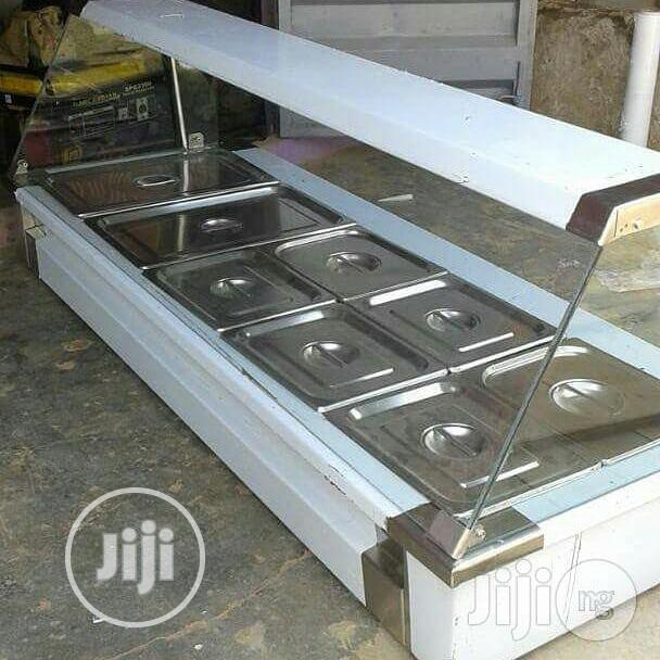 High Quality And Durable Table Top Food Warme Display