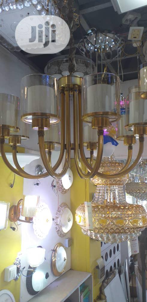 Luxury Golden Chandelier Light Bulbs