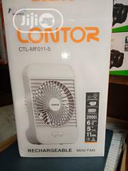 """Lontor 5"""" Recheageble Fan With Led Light   Home Appliances for sale in Lagos State"""