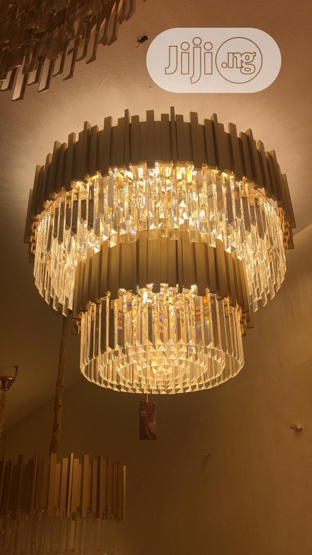 Crystal Chandelier Led by Size