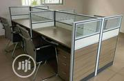 This Is Brand New Quality Four Seaters Workstation Table It Is Strong   Furniture for sale in Lagos State, Lekki Phase 2