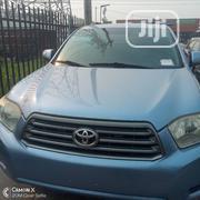 Toyota Highlander 4x4 2008 Blue | Cars for sale in Lagos State, Lekki Phase 2