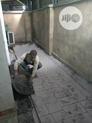Concrete Stamped Floor*Polishing | Cleaning Services for sale in Lagos State, Magodo