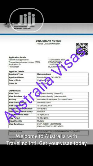 Entry 2020 Australia Visas   Travel Agents & Tours for sale in Bayelsa State, Kolokuma/Opokuma