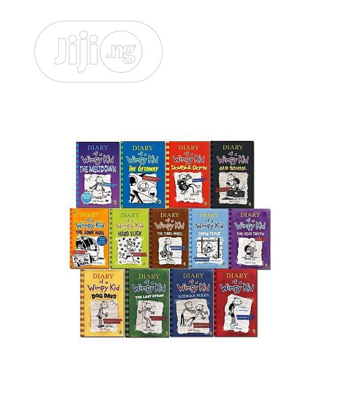 Archive: Diary Of A Wimpy Kid Collection(13books)
