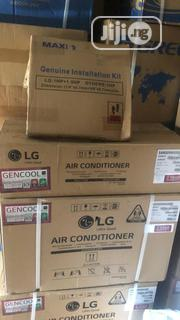 LG Split Inverter Air Conditioner Gencool 1hp With Installation Kit | Home Appliances for sale in Lagos State, Ikeja