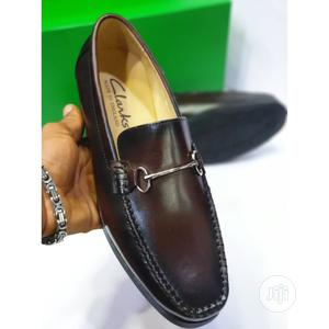 Brown Clarks Shoe for Classic Men | Shoes for sale in Lagos State, Lagos Island (Eko)
