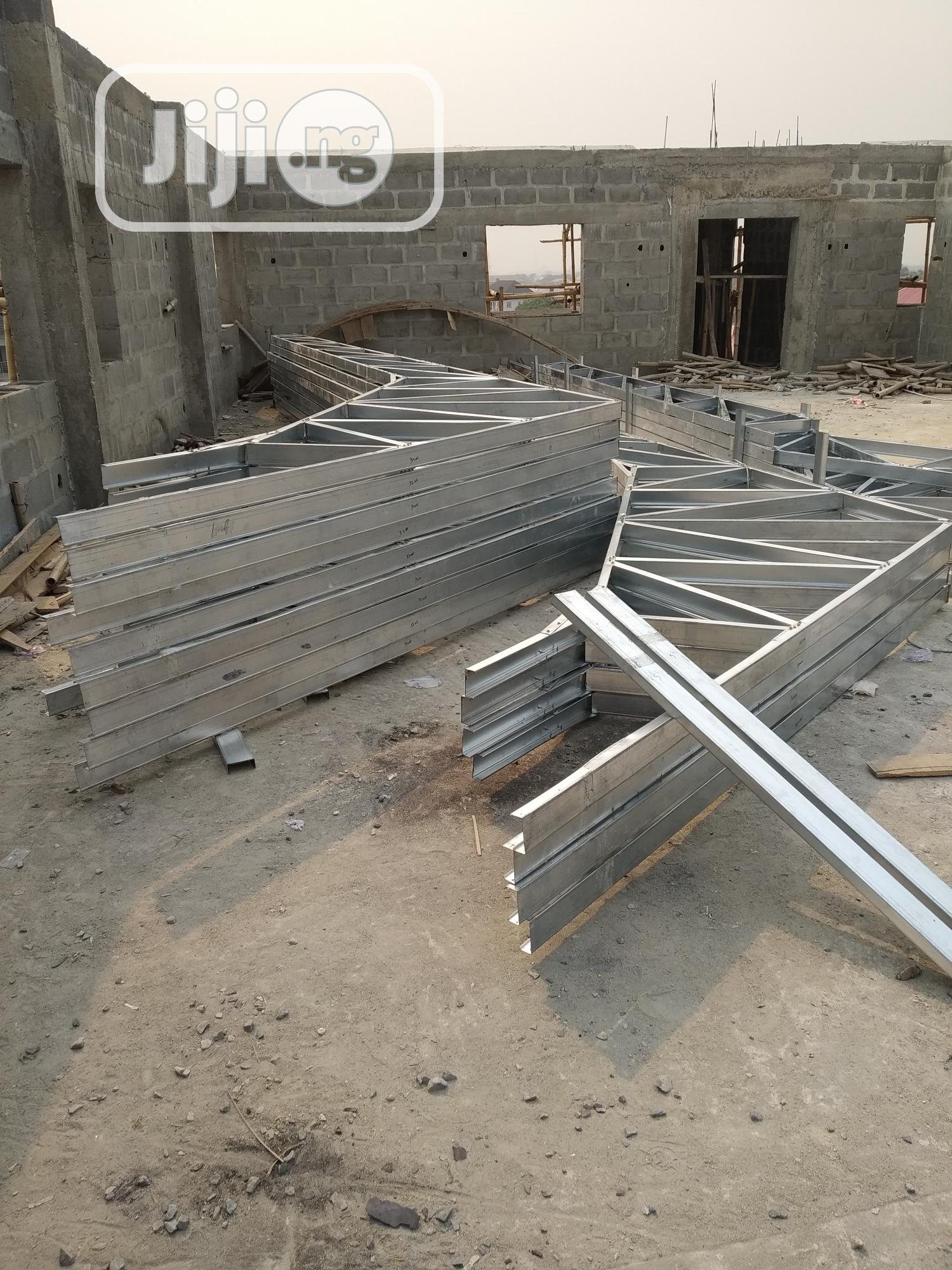 Sales And Installation Of Stone Coated Roof And Galvanize Steel Truss   Building & Trades Services for sale in Lekki Phase 2, Lagos State, Nigeria