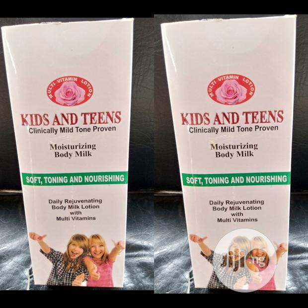 Kids & Teens Moisturizing Body Milk For Kids From 0-17years