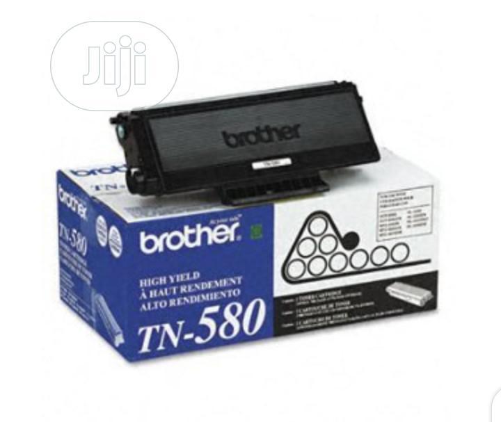 Brother TN580 High Yield Black Original Toner Cartridge