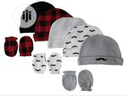 Hudson Baby Boys 8 Pieces Caps & Mitten Set | Children's Clothing for sale in Rivers State, Port-Harcourt