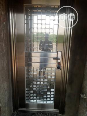 Stainless Glass Door | Doors for sale in Lagos State, Alimosho