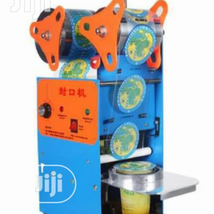 Super Quality And Durable Cup Sealing Machine