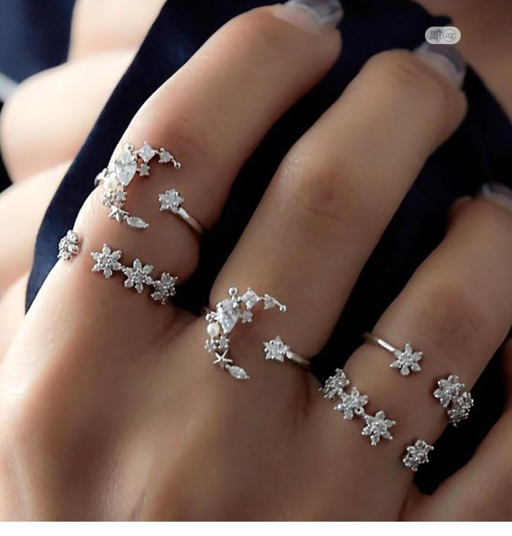 5 in 1 Women Fashion Ring